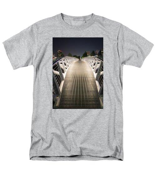 Canoe Bridge  Men's T-Shirt  (Regular Fit) by Sabine Edrissi