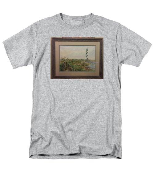 Cape Hatteras Light House Men's T-Shirt  (Regular Fit) by Richard Benson