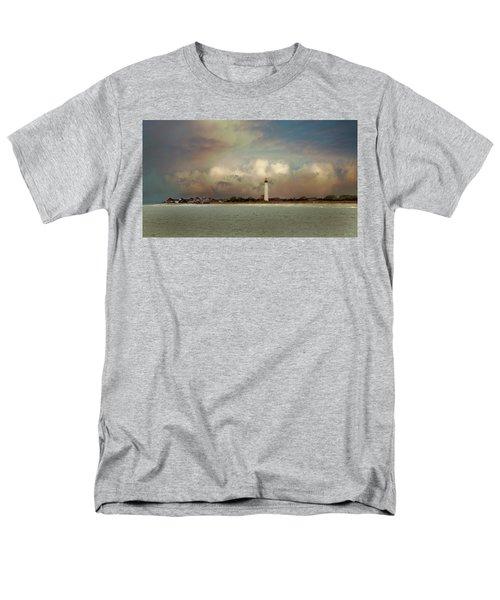 Cape May Lighthouse II Men's T-Shirt  (Regular Fit) by John Rivera
