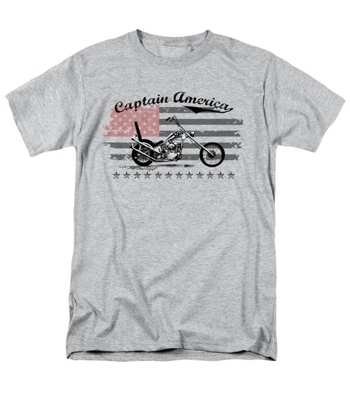 Captain America Men's T-Shirt  (Regular Fit) by Mark Rogan