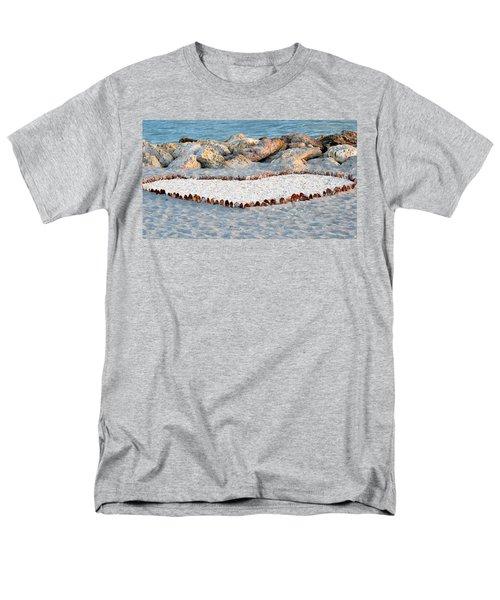 Captiva Love Men's T-Shirt  (Regular Fit) by Melanie Moraga