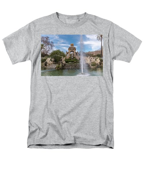 Cascada Monumental Men's T-Shirt  (Regular Fit)