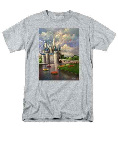 Castle Of Dreams Men's T-Shirt  (Regular Fit) by Randy Burns