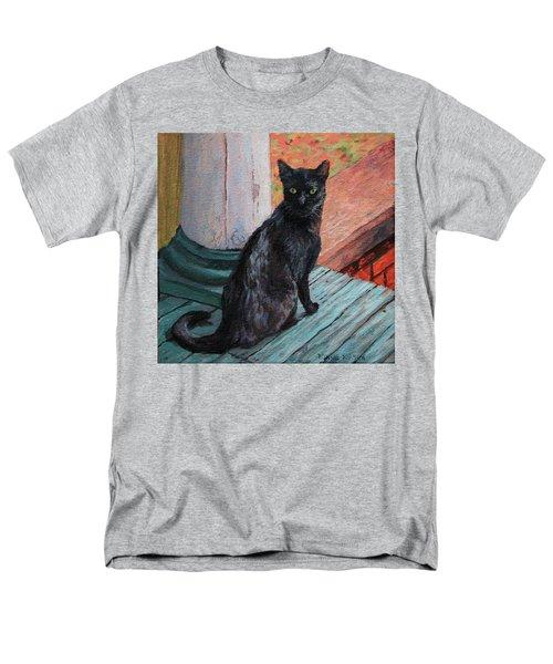 Cat's Pause Men's T-Shirt  (Regular Fit) by Bonnie Mason