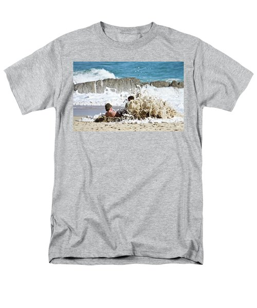 Men's T-Shirt  (Regular Fit) featuring the photograph Caught From Behind by Terri Waters
