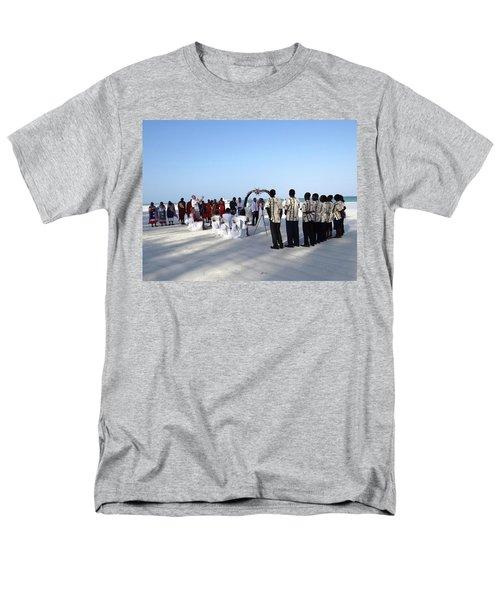 Celebrate Marriage In Kenya Men's T-Shirt  (Regular Fit) by Exploramum Exploramum