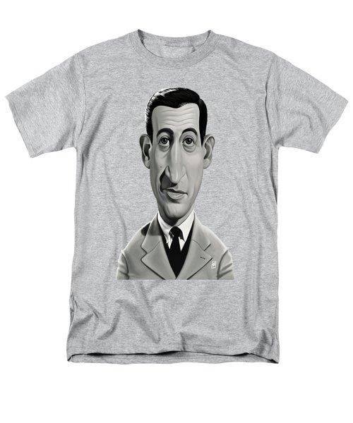 Celebrity Sunday - J.d.salinger Men's T-Shirt  (Regular Fit) by Rob Snow