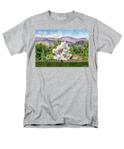 Celeste's Farm Men's T-Shirt  (Regular Fit) by Anne Gifford