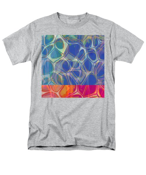 Cell Abstract One Men's T-Shirt  (Regular Fit) by Edward Fielding