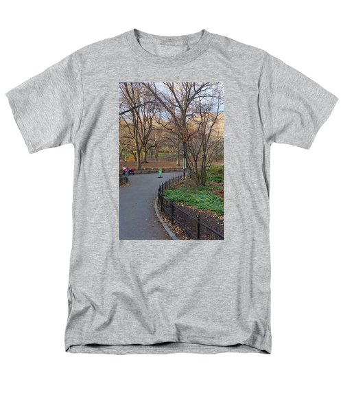 Men's T-Shirt  (Regular Fit) featuring the photograph Central Park by Melinda Saminski