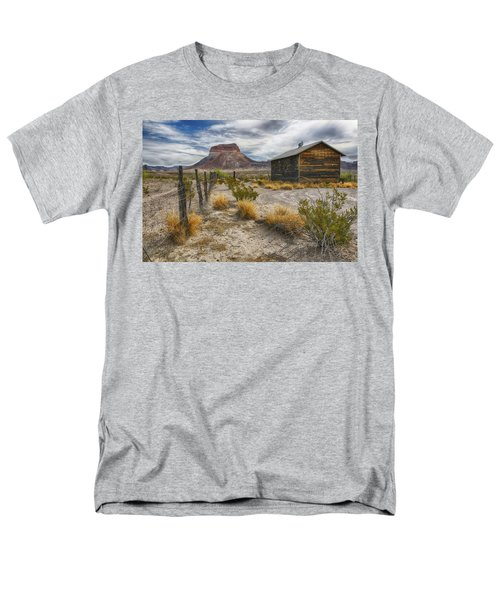 Cerro Castellan - Big Bend - Color Men's T-Shirt  (Regular Fit) by Kathy Adams Clark