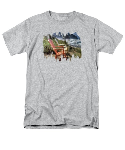 Chairs By The Sea Men's T-Shirt  (Regular Fit)