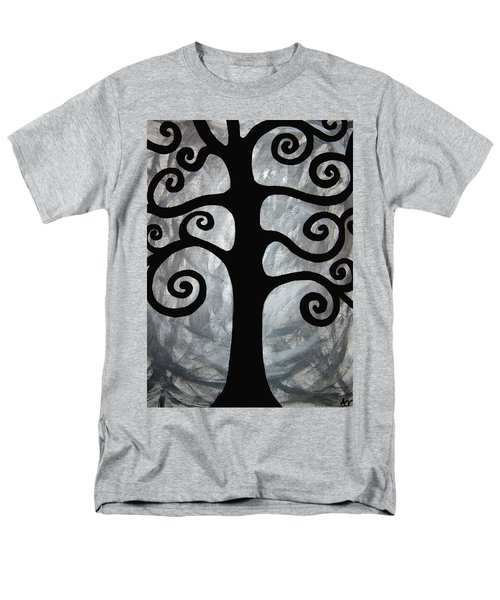 Chaos Tree Men's T-Shirt  (Regular Fit) by Angelina Vick