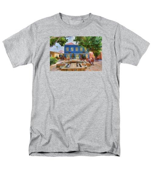 Charming Courtyard Men's T-Shirt  (Regular Fit) by Nadia Sanowar