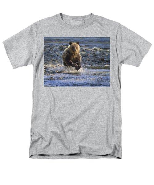 Chasing Salmon Men's T-Shirt  (Regular Fit)