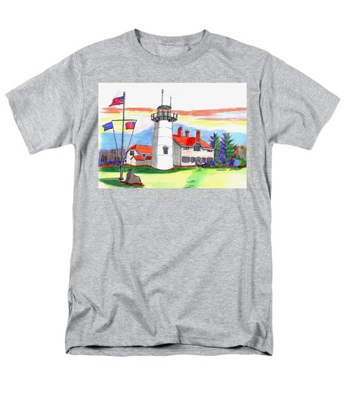 Chatham Lighthouse Men's T-Shirt  (Regular Fit) by Paul Meinerth