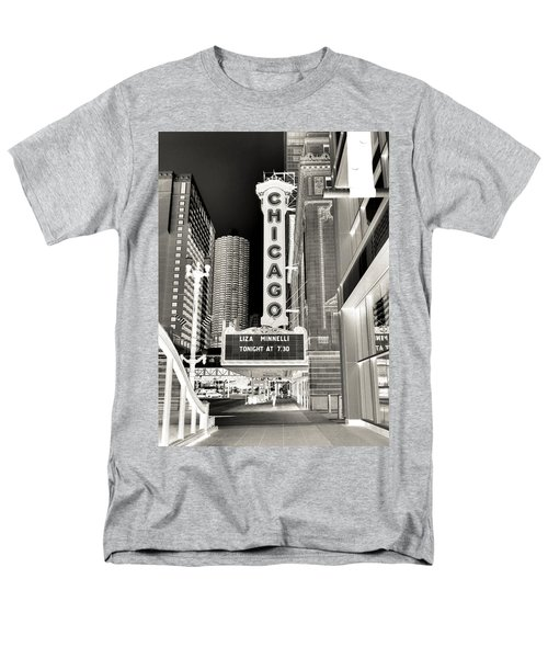 Chicago Theater - 2 Men's T-Shirt  (Regular Fit) by Ely Arsha