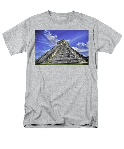 Chichen Itza, El Castillo Pyramid Men's T-Shirt  (Regular Fit) by Jason Moynihan