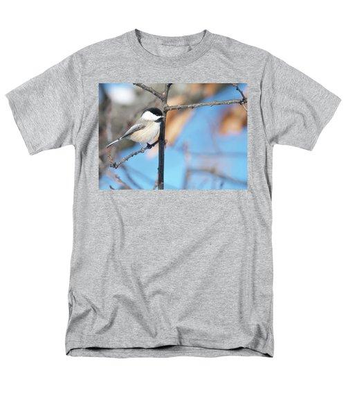 Chickadee Men's T-Shirt  (Regular Fit) by Michael Peychich