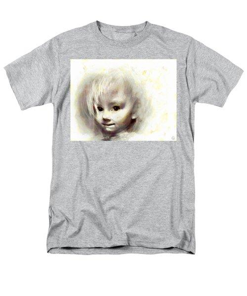 Child Portrait Men's T-Shirt  (Regular Fit) by Gun Legler