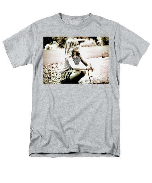 Men's T-Shirt  (Regular Fit) featuring the photograph Childhood Memories by Barbara Dudley