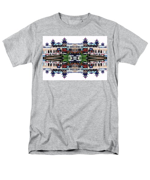 Chinatown Chicago 2 Men's T-Shirt  (Regular Fit) by Marianne Dow