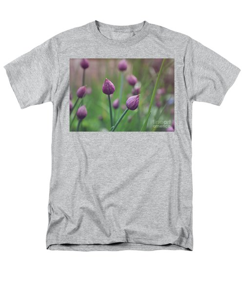Men's T-Shirt  (Regular Fit) featuring the photograph Chives by Lyn Randle