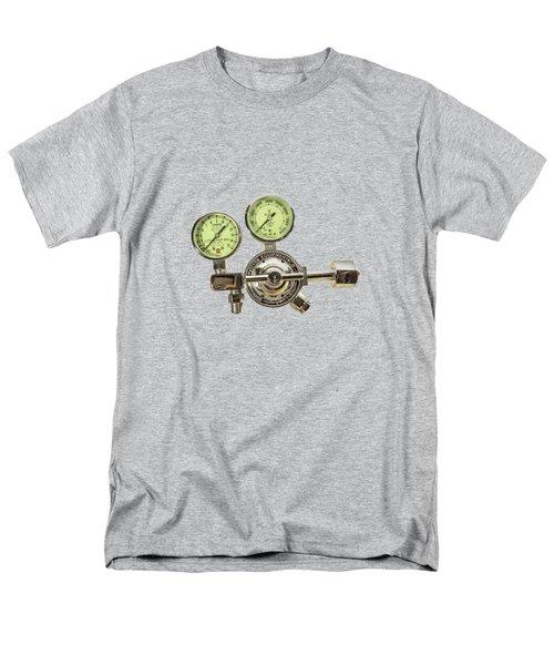 Chrome Regulator Gauges Men's T-Shirt  (Regular Fit) by YoPedro