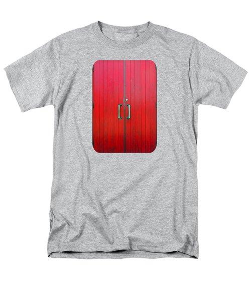 Church Door Men's T-Shirt  (Regular Fit) by Ethna Gillespie