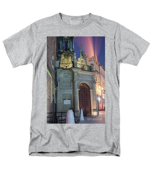 Men's T-Shirt  (Regular Fit) featuring the photograph Church Door by Juli Scalzi