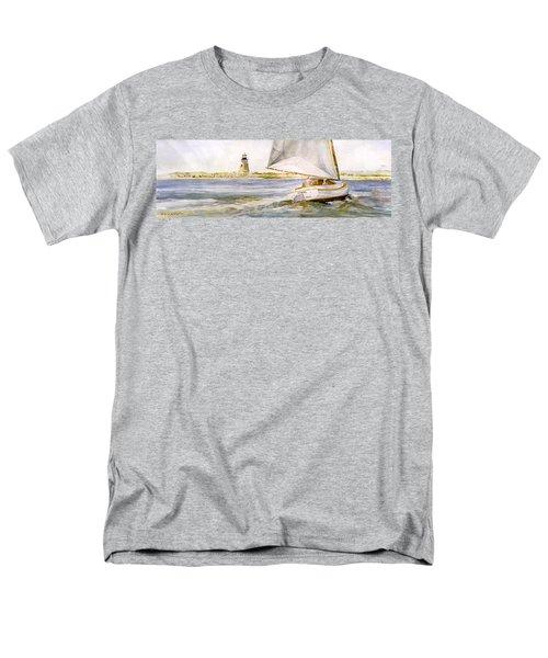Cimba At Bird Island Light Men's T-Shirt  (Regular Fit) by P Anthony Visco
