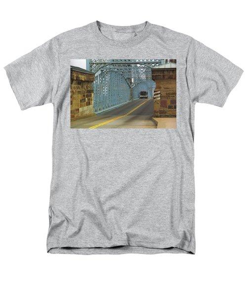 Cincinnati - Roebling Bridge 1 Men's T-Shirt  (Regular Fit) by Frank Romeo
