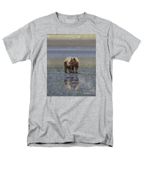 Men's T-Shirt  (Regular Fit) featuring the photograph Clamming The Day Away by Sandra Bronstein