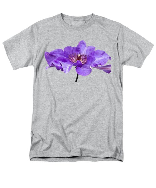 Clematis Men's T-Shirt  (Regular Fit) by Scott Carruthers