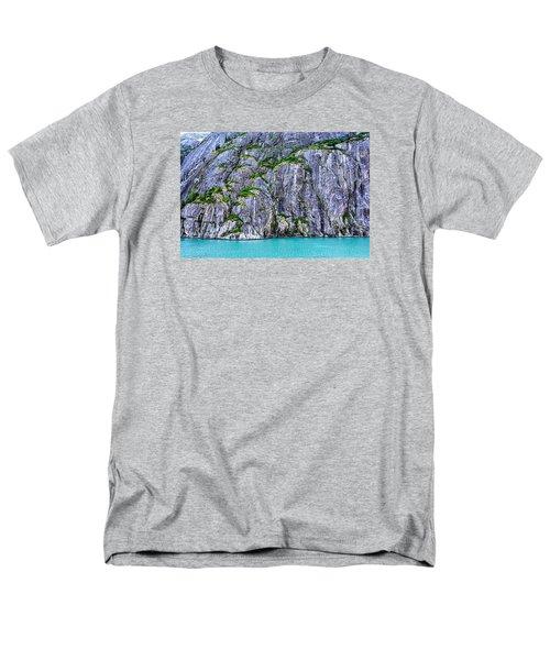 Men's T-Shirt  (Regular Fit) featuring the photograph Cliffs Of The Inside Passage by Lewis Mann