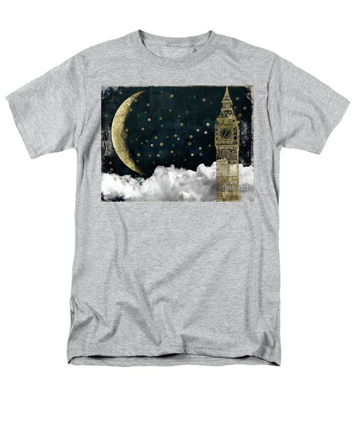 Cloud Cities London Men's T-Shirt  (Regular Fit) by Mindy Sommers