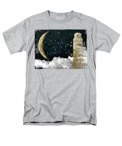 Cloud Cities Pisa Italy Men's T-Shirt  (Regular Fit) by Mindy Sommers