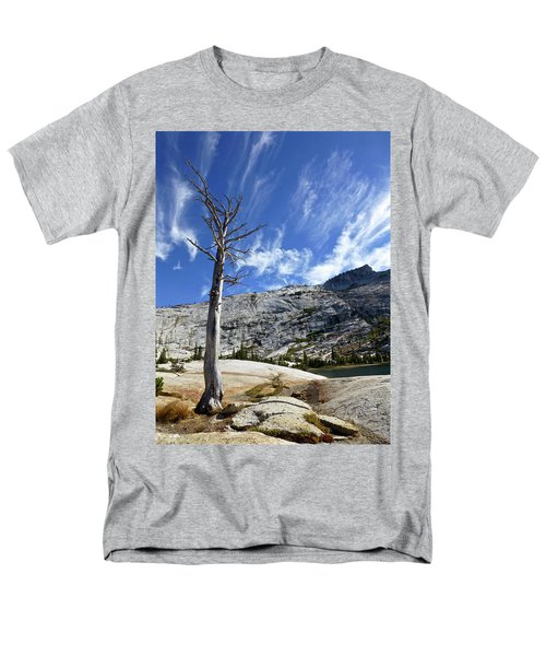 Cloud Stretch Lower Cathedral Lake Men's T-Shirt  (Regular Fit) by Amelia Racca