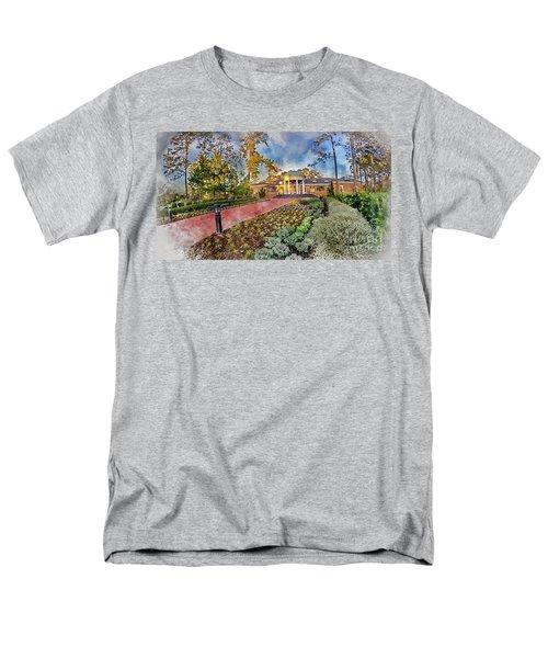 Coastal Carolina University Digital Watercolor Men's T-Shirt  (Regular Fit) by David Smith