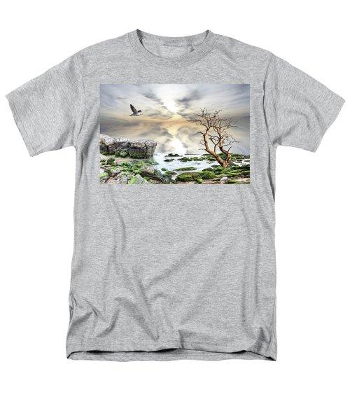 Coastal Landscape  Men's T-Shirt  (Regular Fit) by Angel Jesus De la Fuente