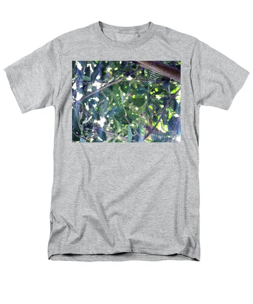 Men's T-Shirt  (Regular Fit) featuring the photograph Cobweb Tree by Megan Dirsa-DuBois