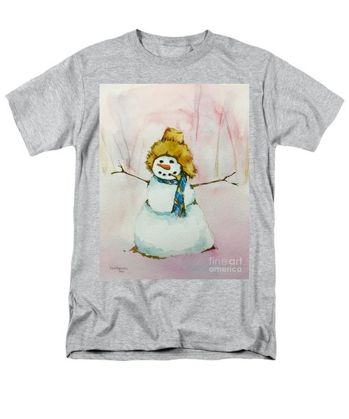 Men's T-Shirt  (Regular Fit) featuring the painting Cody's First Frosty by Lynn Babineau