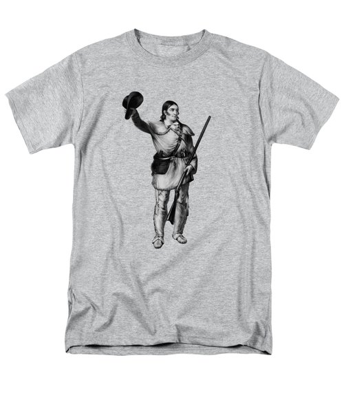 Colonel Davy Crockett Men's T-Shirt  (Regular Fit) by War Is Hell Store