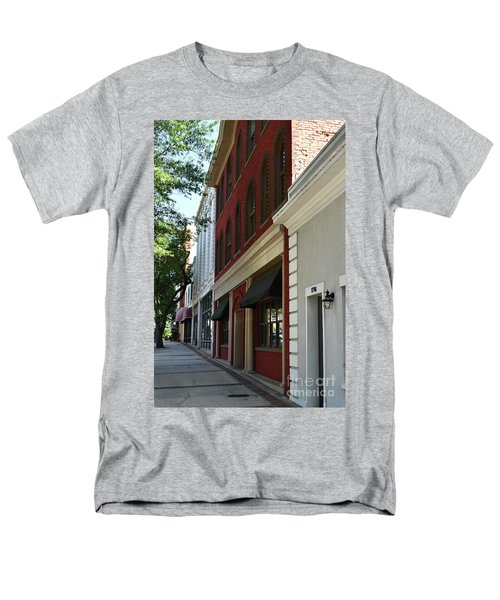 Men's T-Shirt  (Regular Fit) featuring the photograph Color Me Main St Usa by Skip Willits