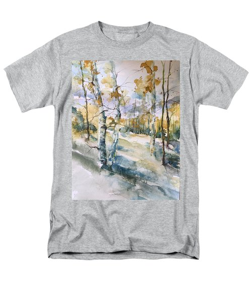 Colorado Aspens And Cottonwoods Men's T-Shirt  (Regular Fit) by Robin Miller-Bookhout