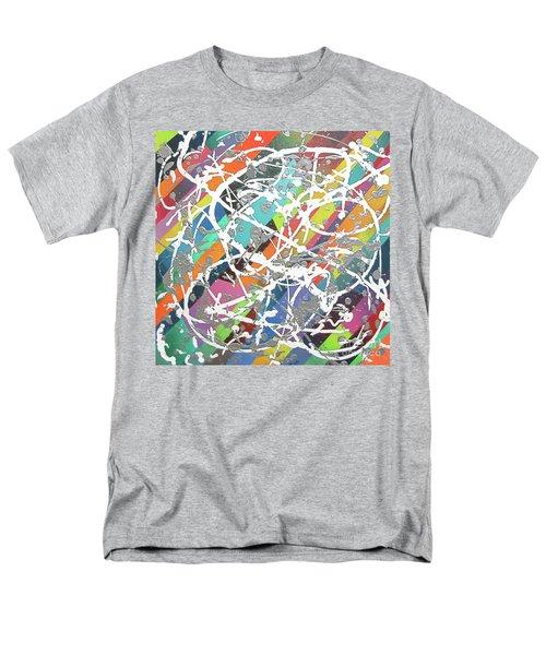 Colorful Disaster Aka Jeremy's Mess Men's T-Shirt  (Regular Fit) by Jeremy Aiyadurai