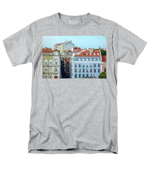 Men's T-Shirt  (Regular Fit) featuring the photograph Colorful Lisbon by Marion McCristall