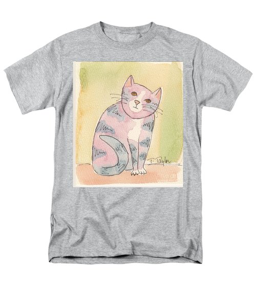 Colorful Tabby Men's T-Shirt  (Regular Fit) by Terry Taylor