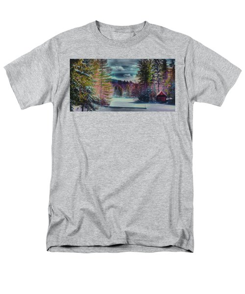 Men's T-Shirt  (Regular Fit) featuring the photograph Colorful Winter Wonderland by David Patterson