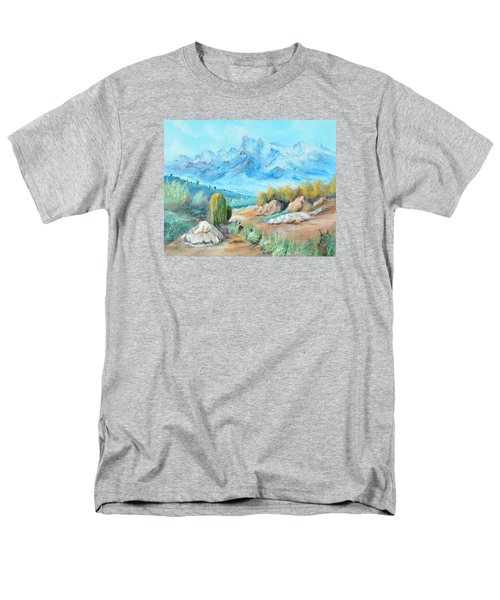 Colors In The High Desert Men's T-Shirt  (Regular Fit) by Lloyd Dobson